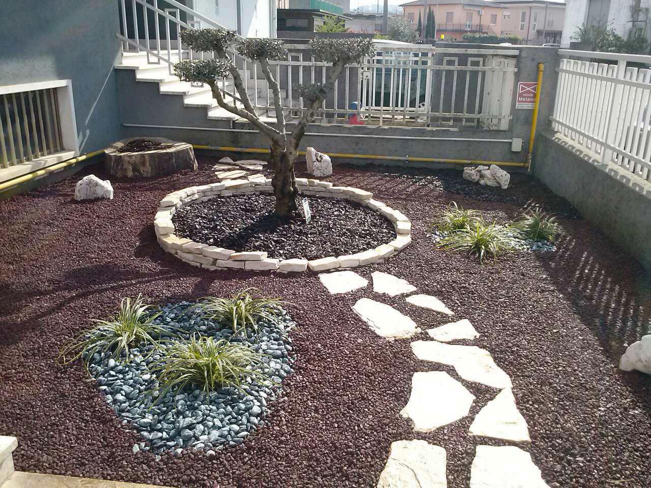 Realizzazione Giardini Moderni : Realizzazione giardini vicenza trifolium giardini vicenza