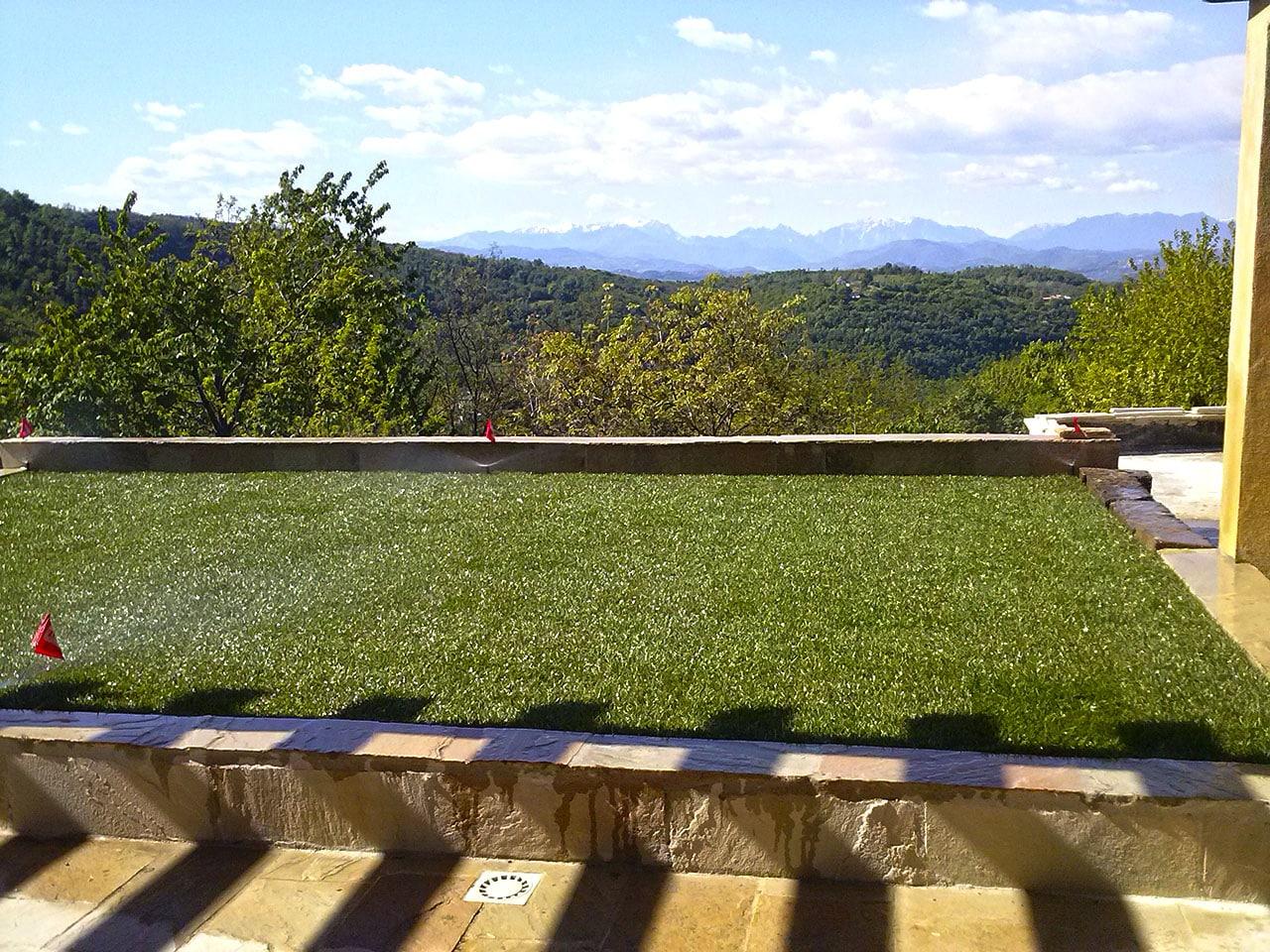 Realizzazione giardini pensili trifolium giardini vicenza for Giardini sui terrazzi