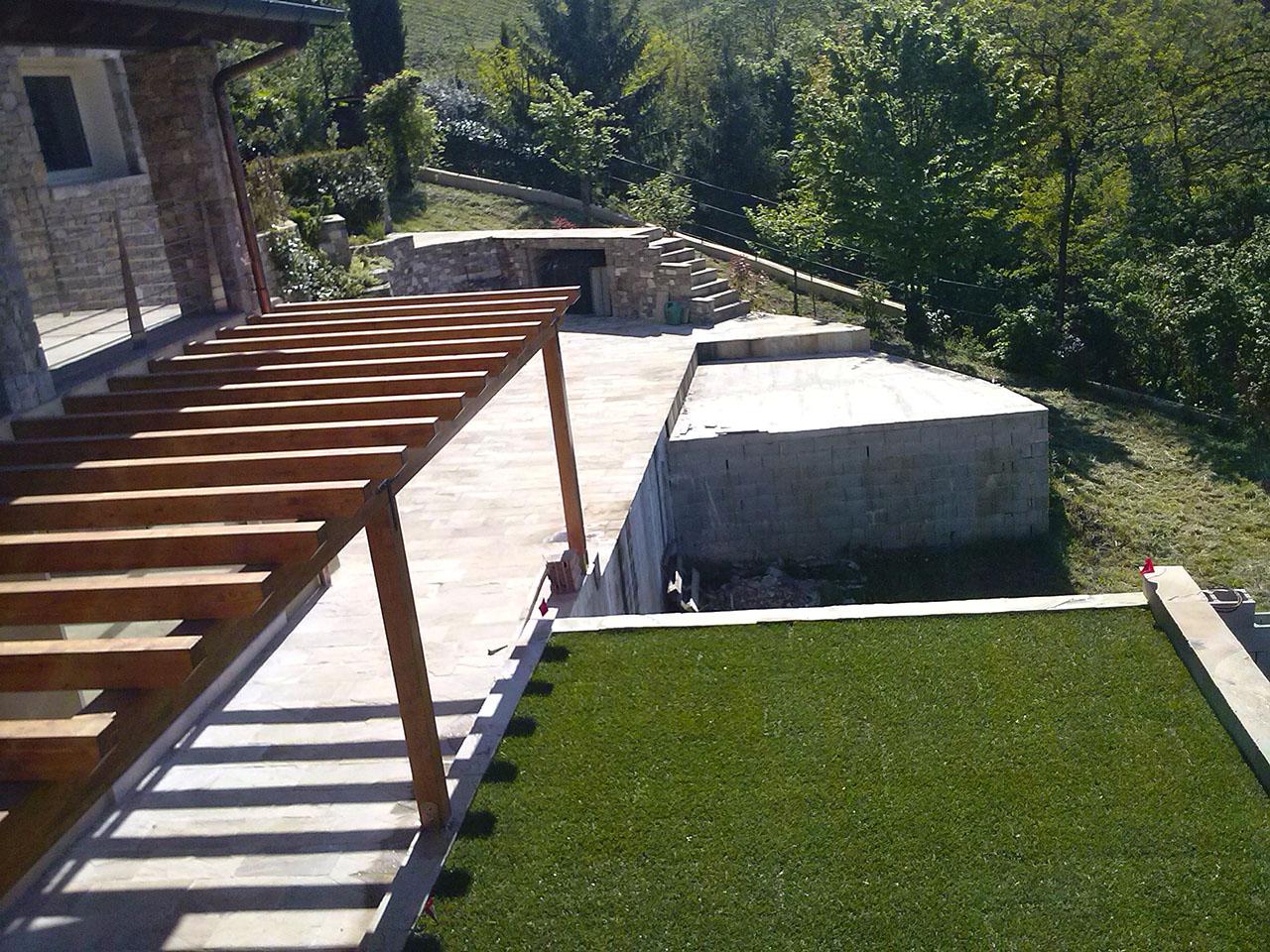Preferenza Realizzazione Giardini Pensili | Trifolium Giardini Vicenza PK72