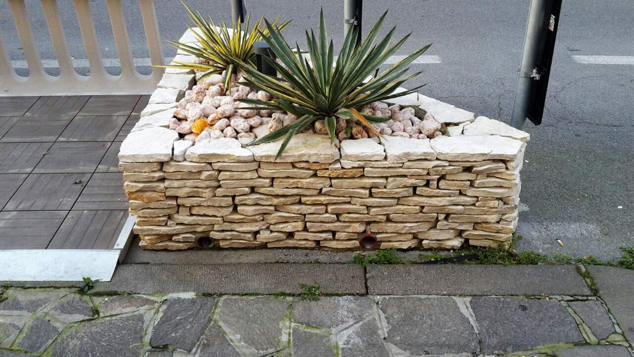 Muretti e camminamenti per giardini trifolium vicenza - Muretti da giardino ...